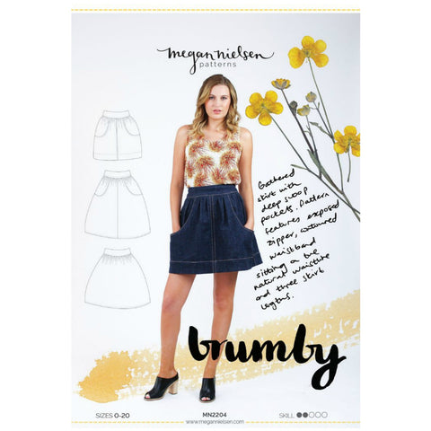 Megan Nielsen Patterns - Brumby Skirt Pattern (paper)