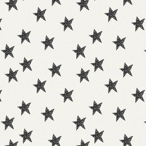 Star Glow in Black & White