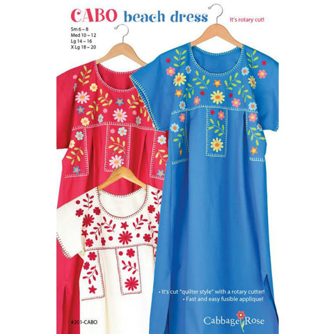 Cabo Beach Dress Pattern (Paper)