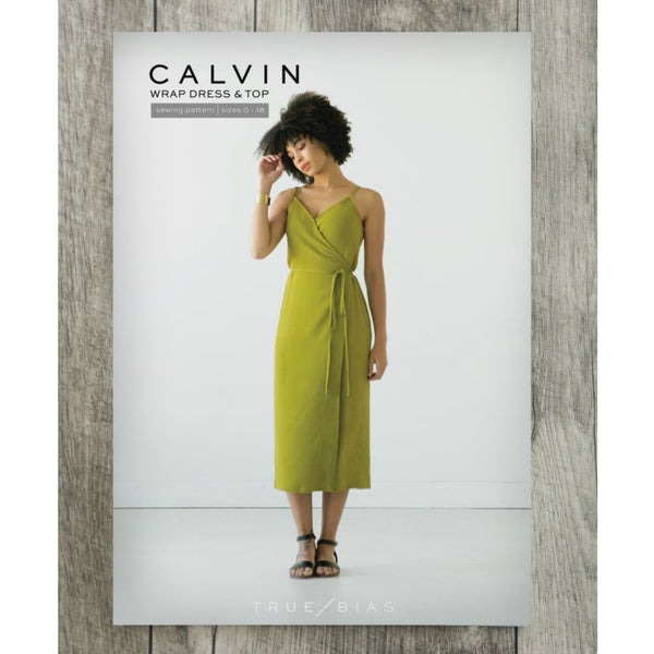 True Bias Calvin Wrap Dress / Top Pattern (paper)