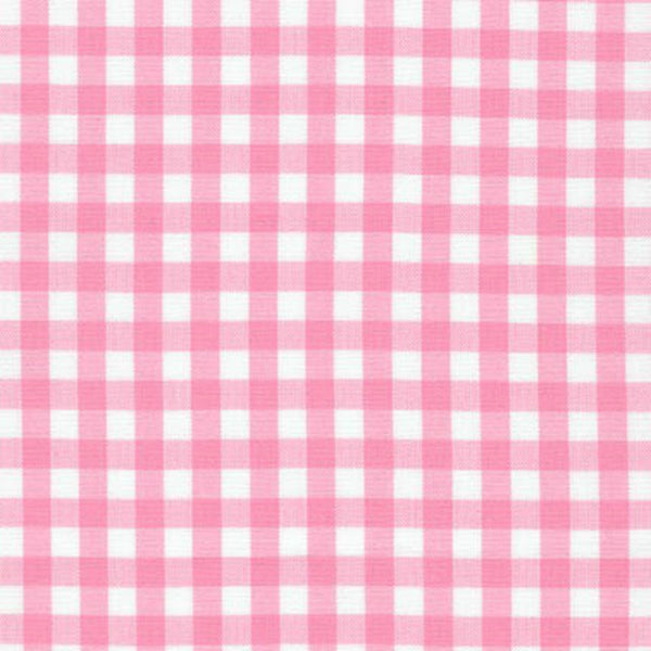"Carolina Gingham 1/4"" in Candy Pink - Last Fat Quarter"
