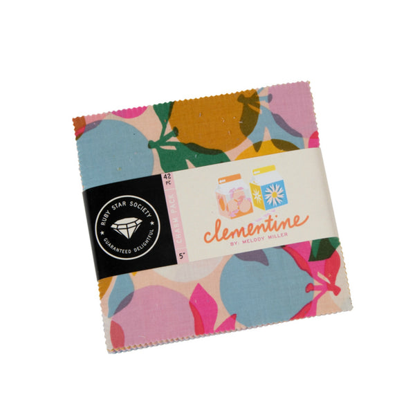 "Clementine Collection - 42 piece 5"" x 5"" Square Charm Pack"