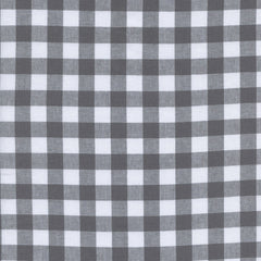 "Checkers 1/2"" Gingham in Chalkboard"