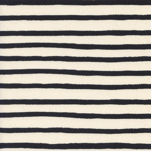 Cheshire Stripe in White