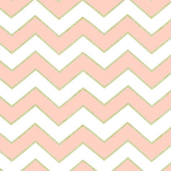 Chic Chevron Pearlized in Blush