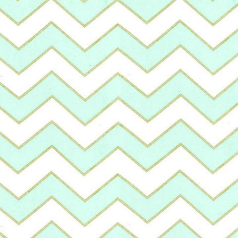 Chic Chevron Pearlized in Mist