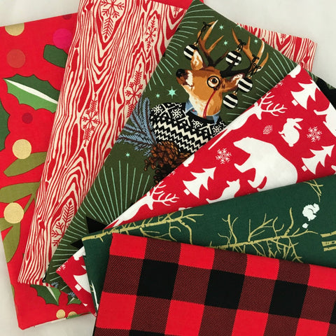 Christmas Tidings Fat Quarter Bundle
