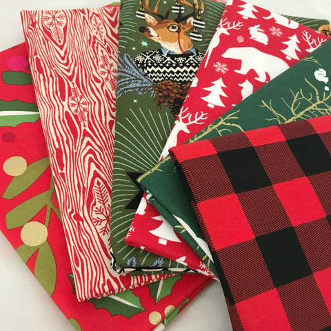 Christmas Tidings Yardage Bundle