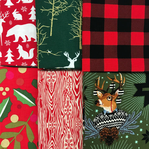 Christmas Tidings Half Yard Bundle
