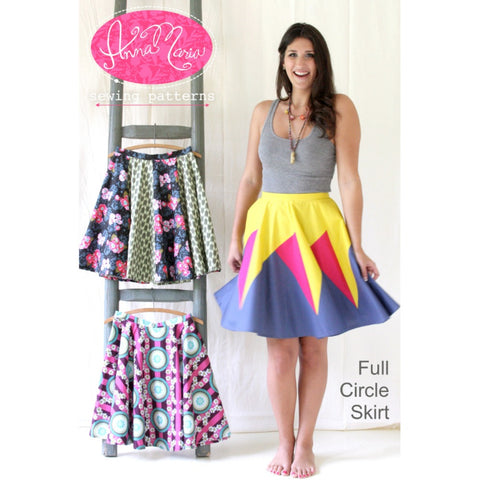Anna Maria Horner - Full Circle Skirt Pattern (paper)
