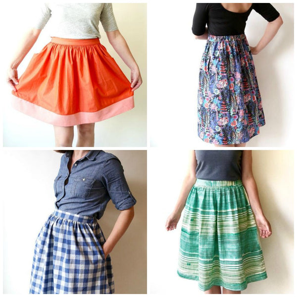 Made by Rae Cleo Skirt Pattern (paper)