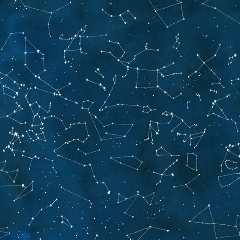 Constellations in Midnight (digital spectrum print)