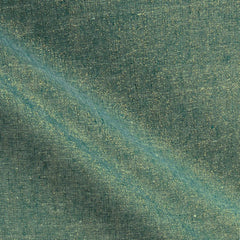 Essex Yarn Dyed Metallic (cotton / linen) in Emerald Metallic