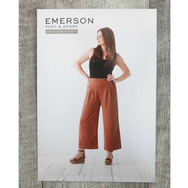 True Bias Emerson Pants and Shorts Pattern (paper)