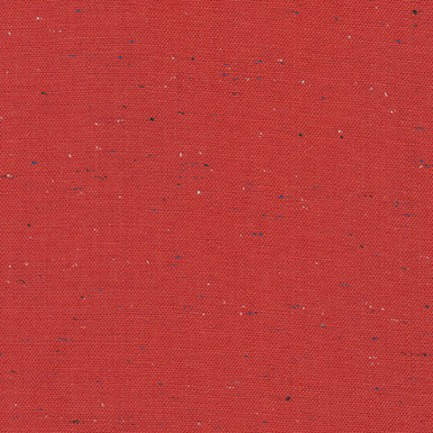 Essex Speckle (cotton / linen) in Red