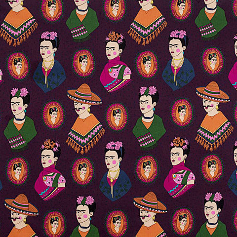 Fantastico Frida! in Eggplant