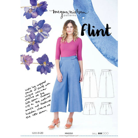 Megan Nielsen Patterns - Flint Pants & Shorts Pattern (paper)