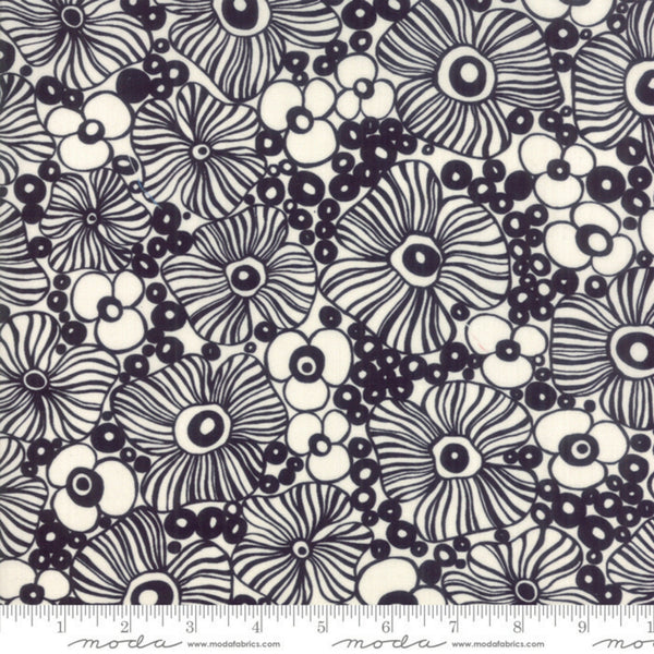 Botanica Floral RAYON in Black