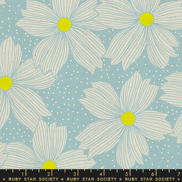 Forest Floral in Soft Blue
