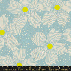 Forest Floral in Soft Blue - Last Fat Quarter