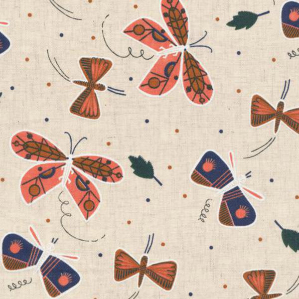 Flutter in Natural Organic Cotton / Linen Blend