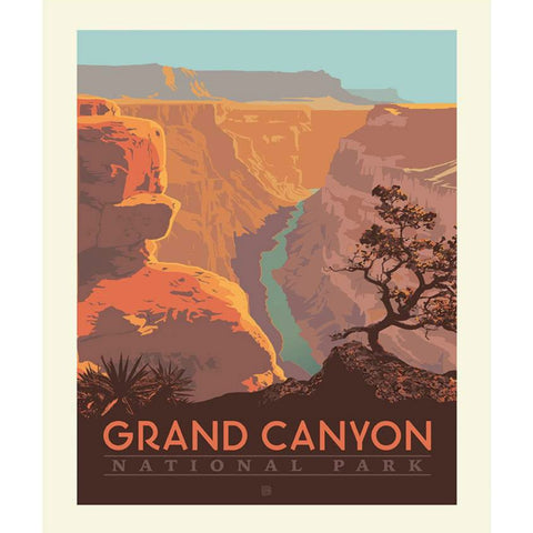 National Parks Grand Canyon Poster PANEL in Desert
