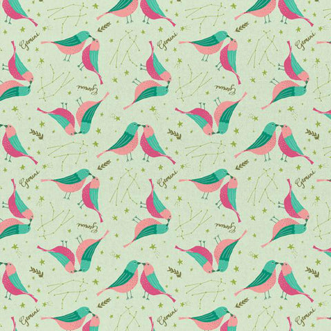Gemini in Mint Green - Last Fat Quarter