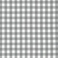 "Carolina Gingham 1/4"" in Grey"