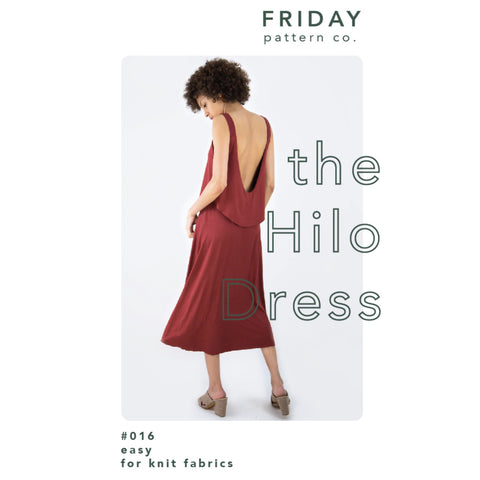 Friday Pattern Co. Hilo Dress Pattern (paper)