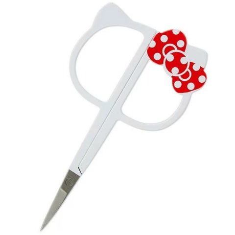 "Hello Kitty Bow Embroidery Scissors 4.25"" (without case)"