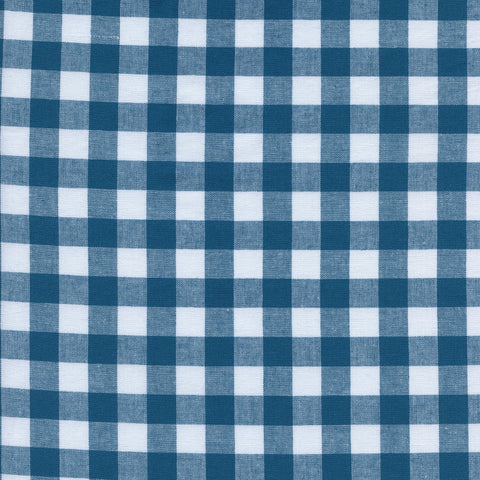 "Checkers 1/2"" Gingham in Teal"