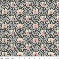Harriet's Pansy in Pink / Gray
