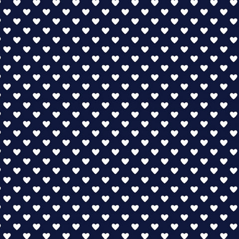 Hearts in Navy