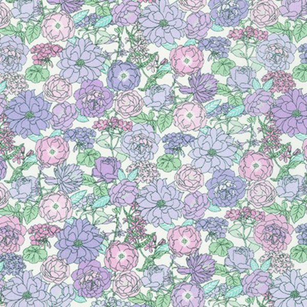 London Calling COTTON LAWN in Heather