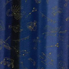 Horoscope DOUBLE GAUZE in Blue