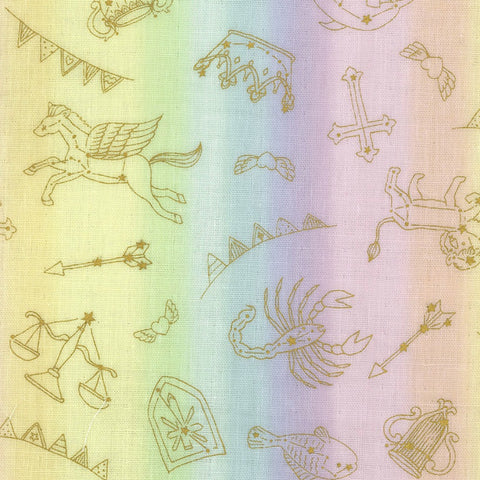 Horoscope DOUBLE GAUZE in Pastel