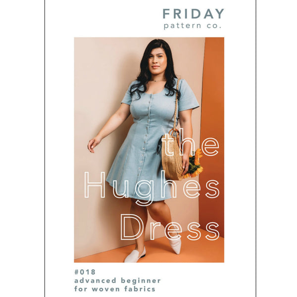 Friday Pattern Co. Hughes Dress Pattern (paper)