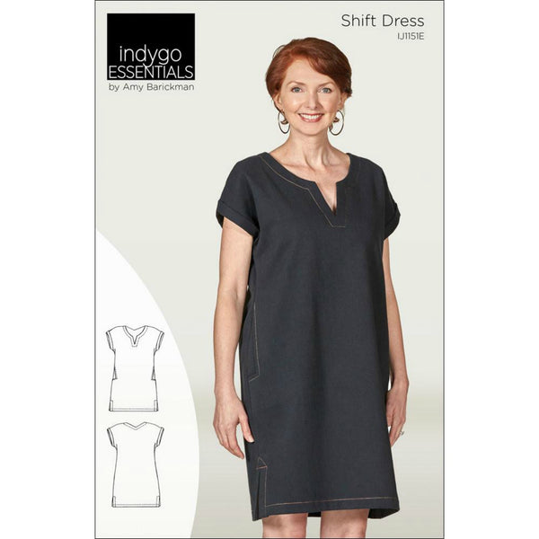 Indygo Junction - Shift Dress Pattern (paper)