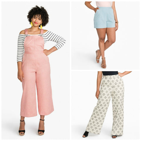 Closet Case Patterns - Jenny Trousers & Overalls Pattern (paper)