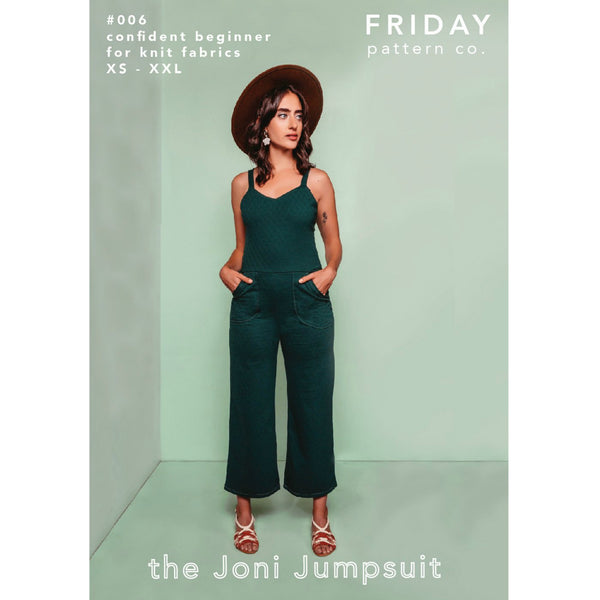 Friday Pattern Co. Joni Jumpsuit Pattern (paper)