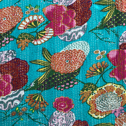 Kantha Hand Embroidered in Sunny Season