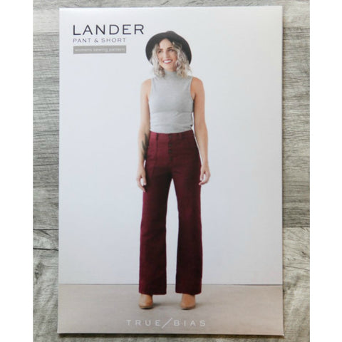 True Bias Lander Pants and Shorts Pattern (paper)