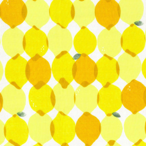 Lemons DOUBLE GAUZE in Yellow