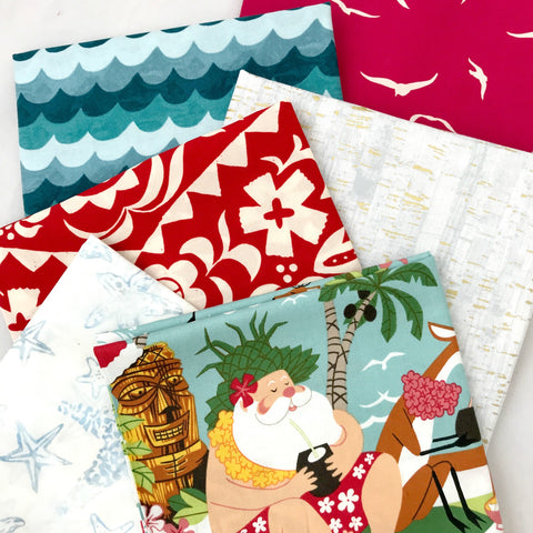 Mele Kalikimaka Fat Quarter Bundle