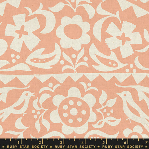 Market Floral in Peach