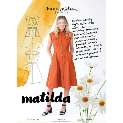Megan Nielsen Patterns - Matilda Dress Pattern (paper)