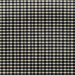 "Crawford Gingham 1/8"" in Black"