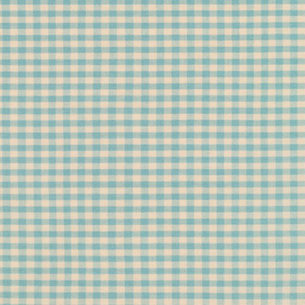 "Crawford Gingham 1/8"" in Blue"