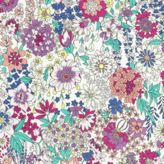 Garden Floral COTTON LAWN in Rainbow