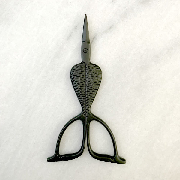 Mermaid Tail Scissors in Primitive (Matte Black)